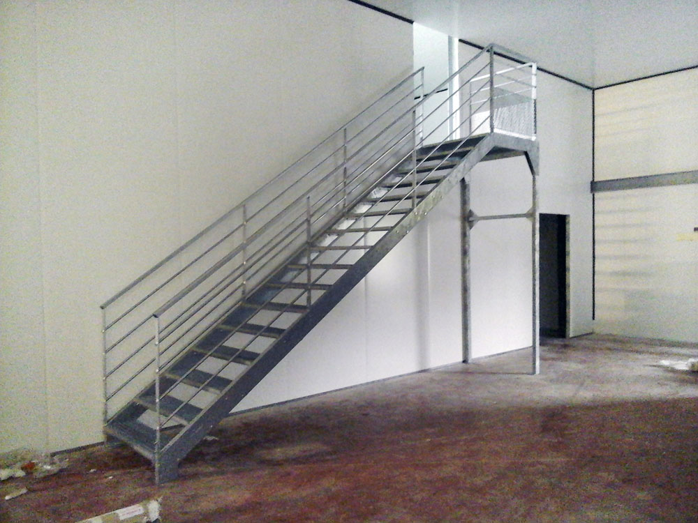 escalier sur mesure interieur