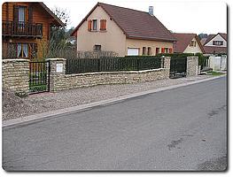 Barrière de portail