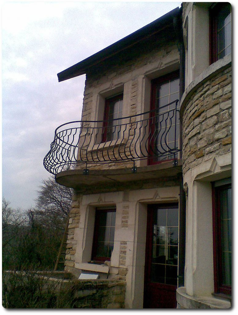 Barrière de balcon et de terrasse