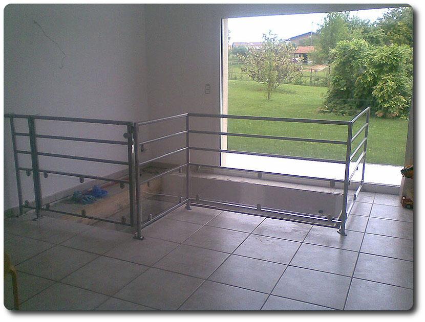 Barrière d'escalier d'intérieur